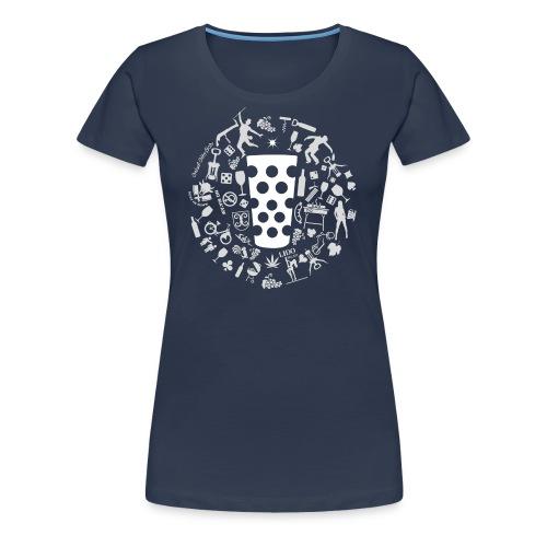 Michl-weiss - Frauen Premium T-Shirt