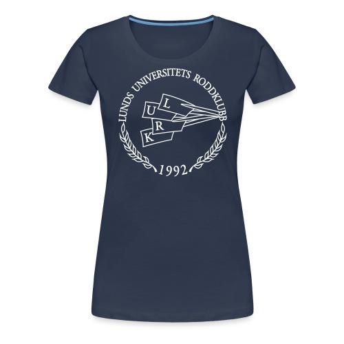 LURK blue logo print - Women's Premium T-Shirt