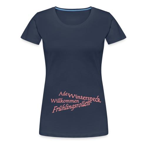 ade winterspeck - Frauen Premium T-Shirt