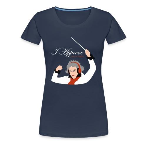 I Approve (White) - Premium-T-shirt dam