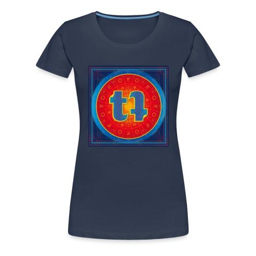 turn turQuoise Logo - Frauen Premium T-Shirt