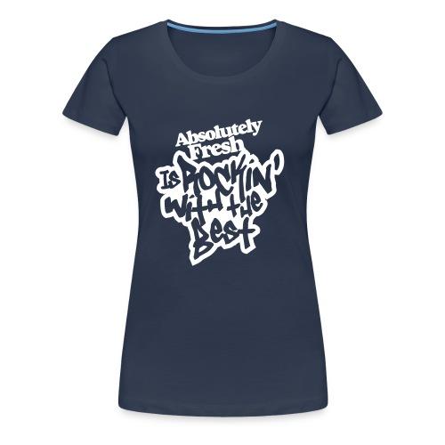 rocking - Vrouwen Premium T-shirt