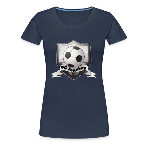 FC Sonntag Logo - Frauen Premium T-Shirt