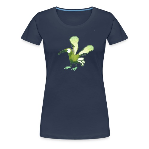 grün 1 png - Frauen Premium T-Shirt