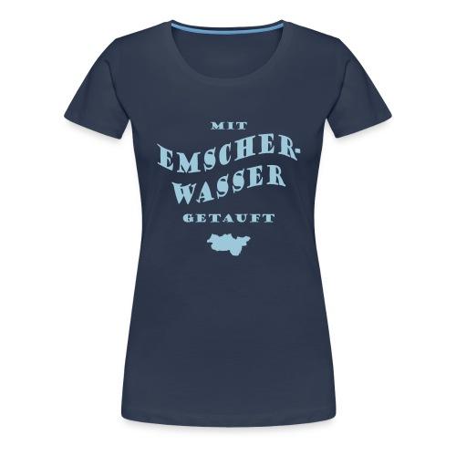 Emscherwasser - Frauen Premium T-Shirt