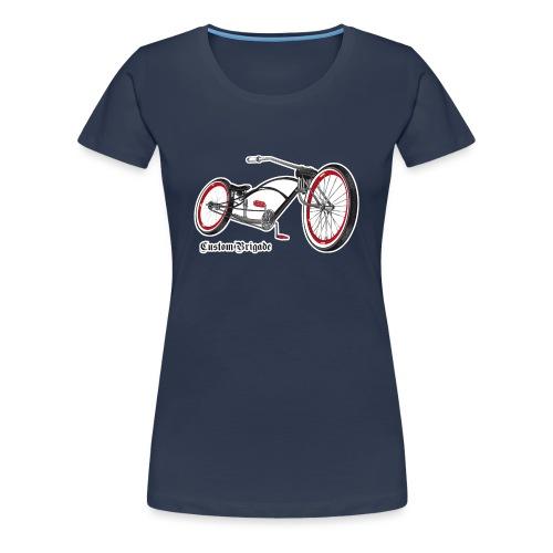 velo02 transparent - T-shirt Premium Femme