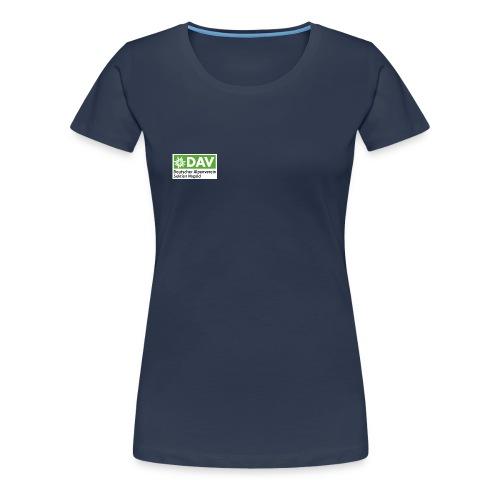 DAV Nagold Logo png - Frauen Premium T-Shirt