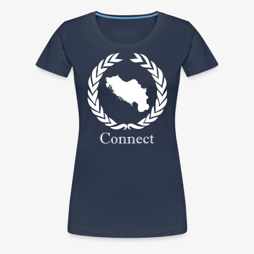 CONNECT COLLECTION LMTD. EDITION WHITE - Women's Premium T-Shirt