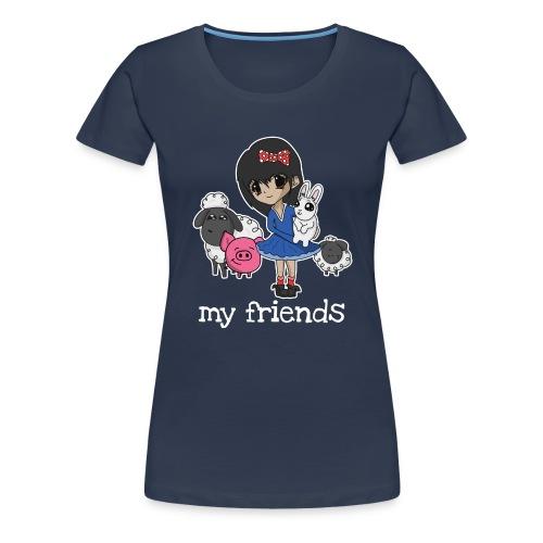 Vegan Company Girlie Design - Frauen Premium T-Shirt