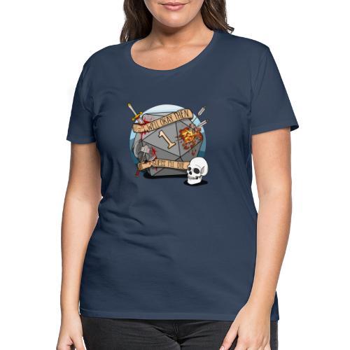Devine je meurs - Donjons et dragons du MDN D & D - T-shirt Premium Femme