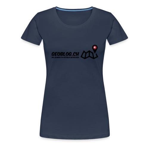 Logo+Schriftzug - Frauen Premium T-Shirt