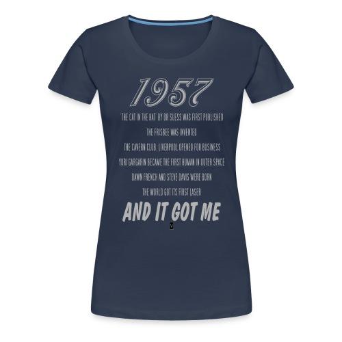 1957 60th birthday - Women's Premium T-Shirt