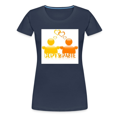 Copy & Paste in love - Frauen Premium T-Shirt