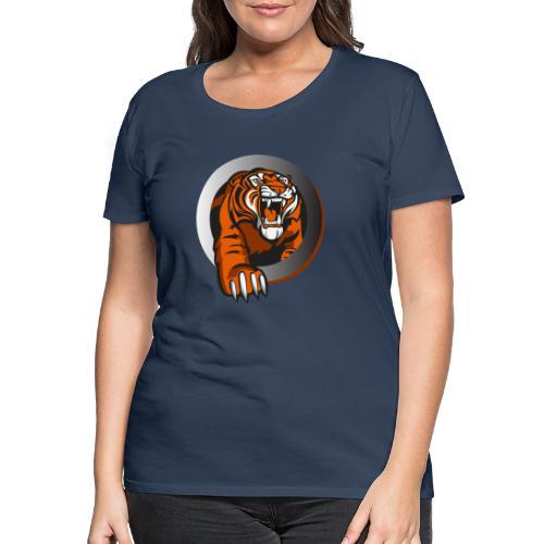 tiikeri - Naisten premium t-paita