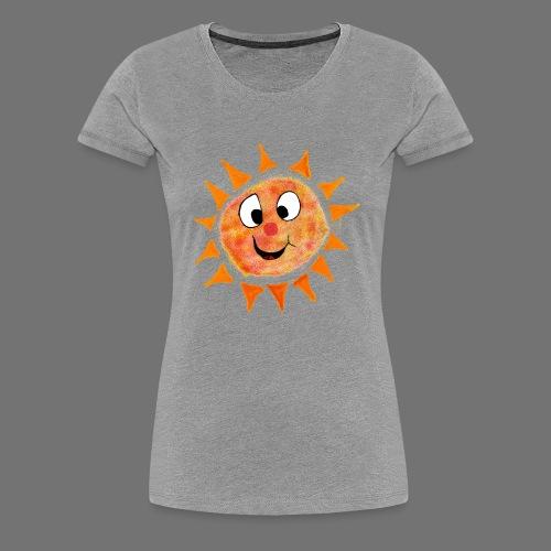 Aurinko - Naisten premium t-paita