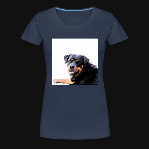 Rottweiler Kopf - Frauen Premium T-Shirt