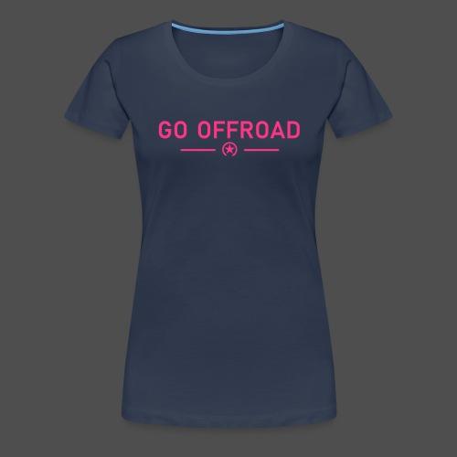 go off-road - Women's Premium T-Shirt