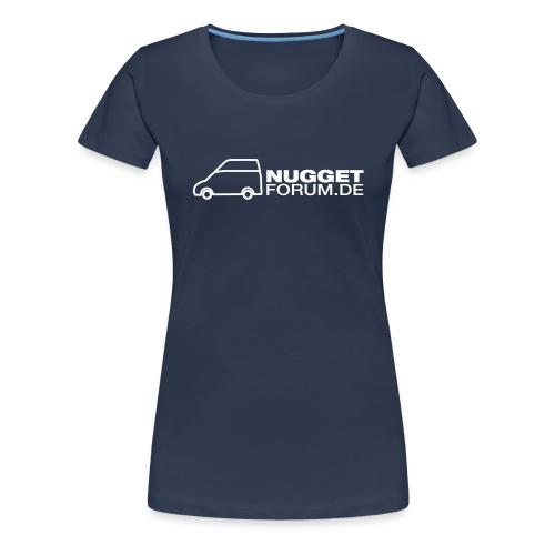 Nugget Logo Hochdach - Frauen Premium T-Shirt