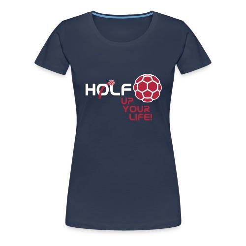 HOLF_T-Shirt_Vorlage_Logo - Frauen Premium T-Shirt