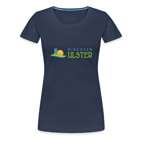 discover ulster logo - Women's Premium T-Shirt