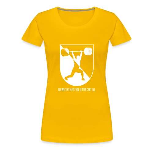 Modern Logo - Vrouwen Premium T-shirt