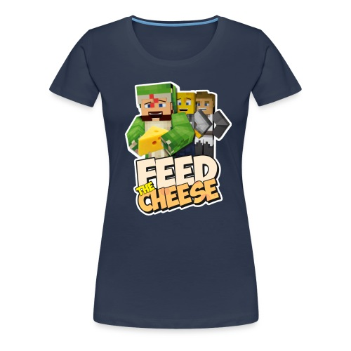 Feed The Cheese png - Women's Premium T-Shirt
