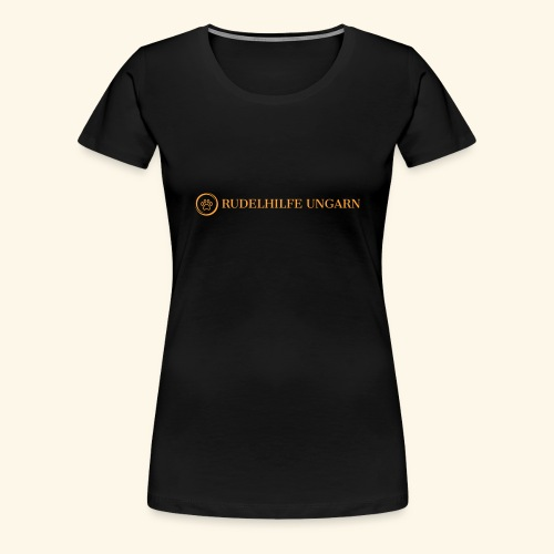 Rudelhilfe Logo - Frauen Premium T-Shirt