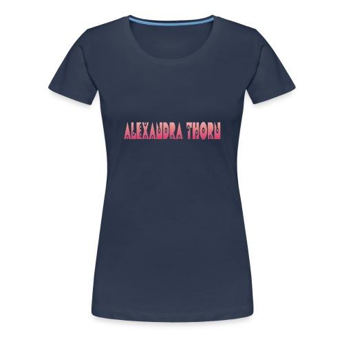 female floral top - Vrouwen Premium T-shirt