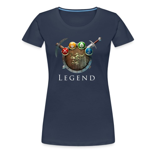 MC Legend Logo - Frauen Premium T-Shirt