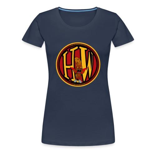 superhw stikker incl worst png - Women's Premium T-Shirt