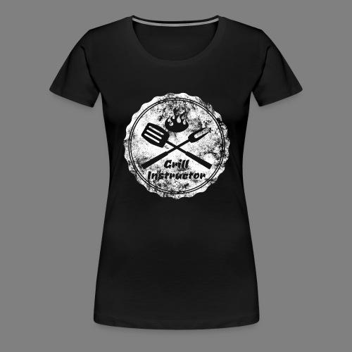 Grill Instructor - Frauen Premium T-Shirt