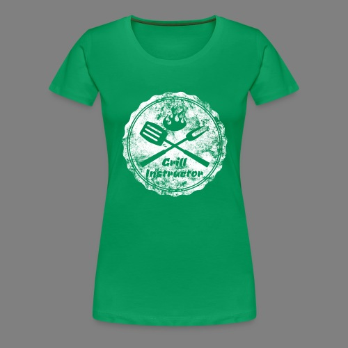 Grill Instructor - Frauen Premium T-Shirt
