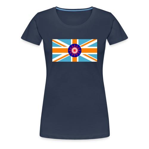 FLAG TEE - Dame premium T-shirt