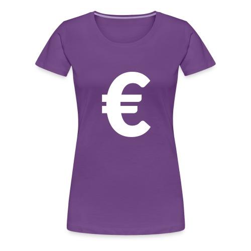 EuroWhite - T-shirt Premium Femme