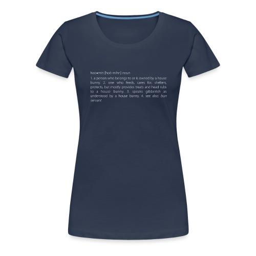 Men's v-neck t-shirt house bunny / rabbit lovers - Women's Premium T-Shirt