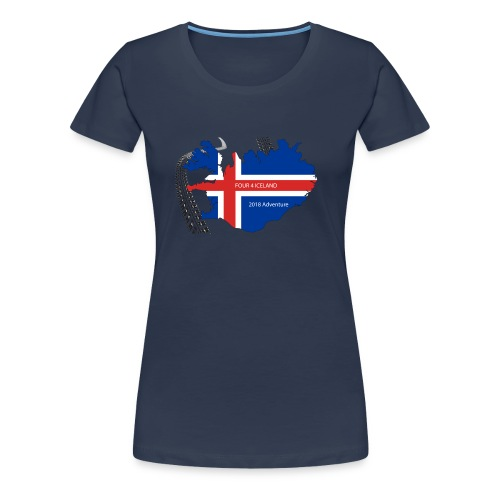 Four4Iceland Adventure - Frauen Premium T-Shirt