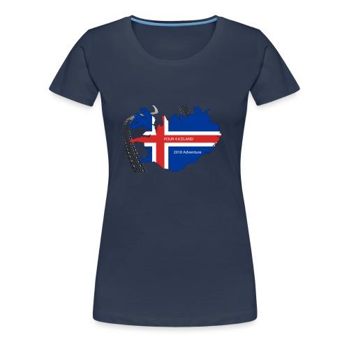 Four4Iceland Adventure - Frauen Premium T-Shirt