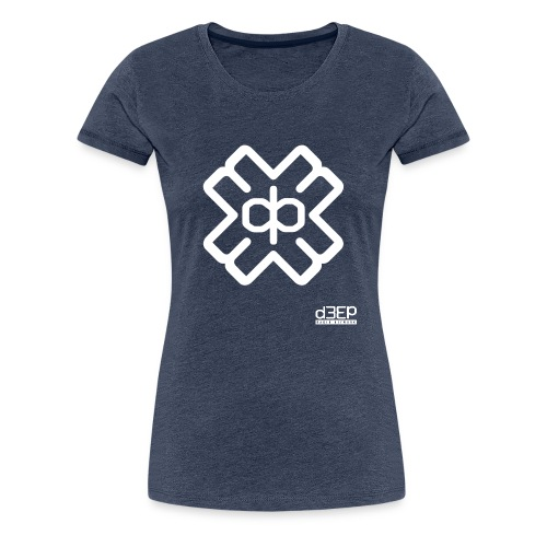 July D3EP Blue Tee - Women's Premium T-Shirt