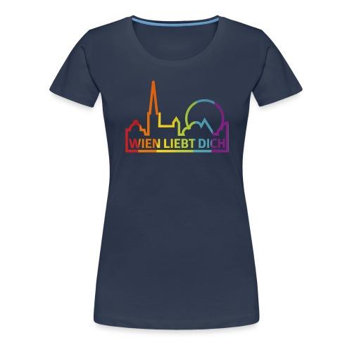 Wien Liebt Dich - Frauen Premium T-Shirt