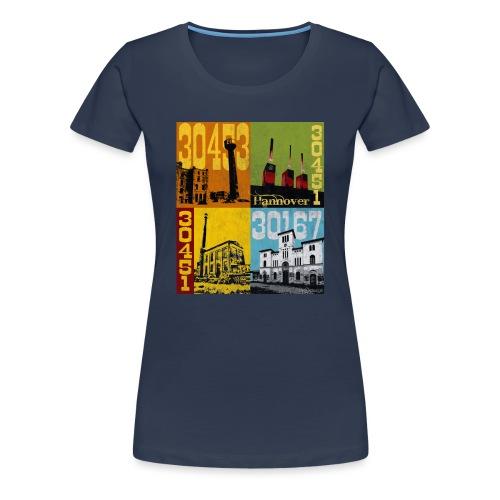 Stadtansichten Hannover Set 01 - Frauen Premium T-Shirt