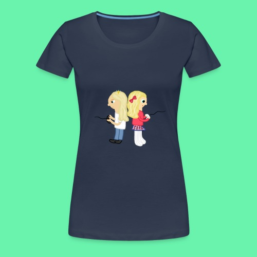 Gaming - Premium-T-shirt dam