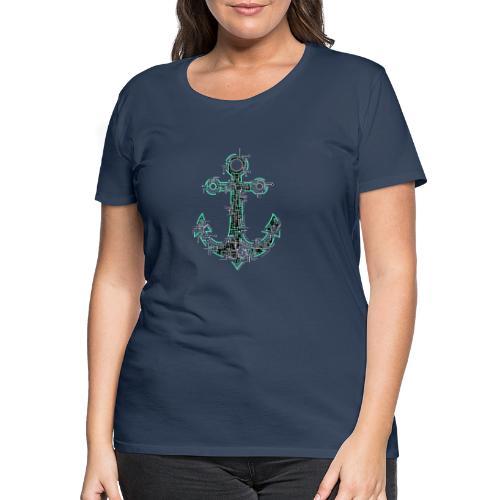 Cyber Anker Tshirt ✅ Elektro Anker Tshirt - Frauen Premium T-Shirt