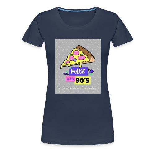 La pizza 🍕 - T-shirt Premium Femme