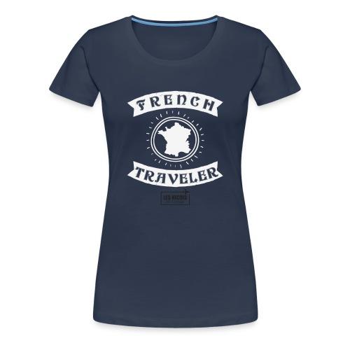 french traveler + LNEV - T-shirt Premium Femme