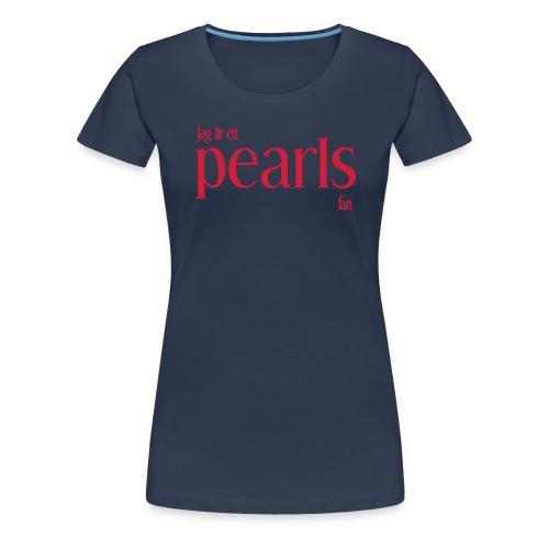 fanlogga big - Premium-T-shirt dam