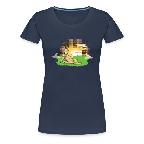 Australie VS Nouvelle Zélande - T-shirt Premium Femme