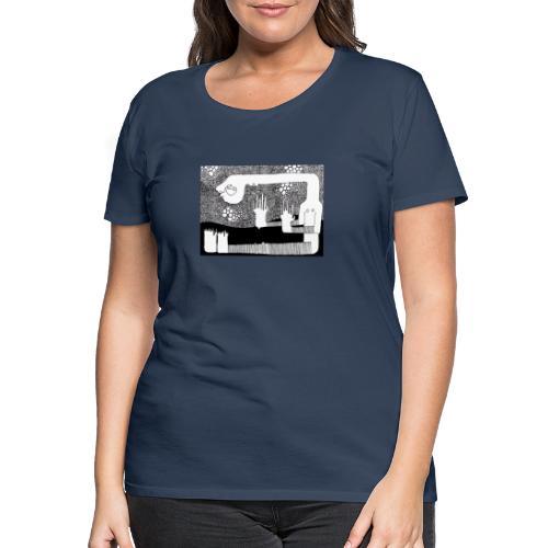 Himmel aus Punkten - Frauen Premium T-Shirt