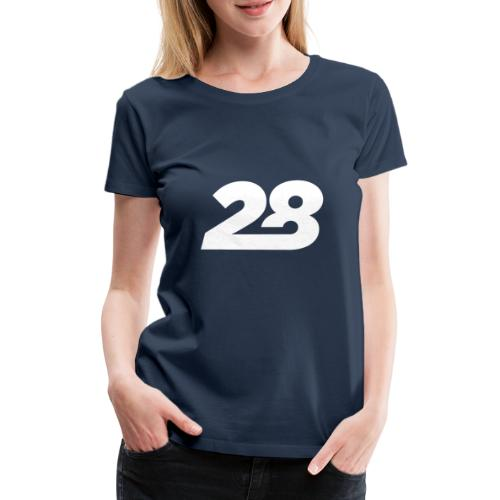 28 White - Women's Premium T-Shirt