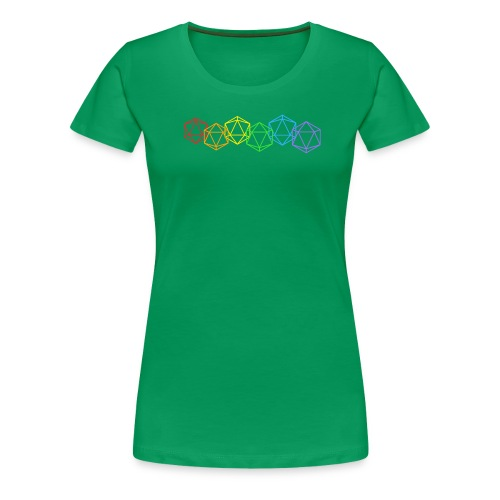 Roll with pride - Vrouwen Premium T-shirt