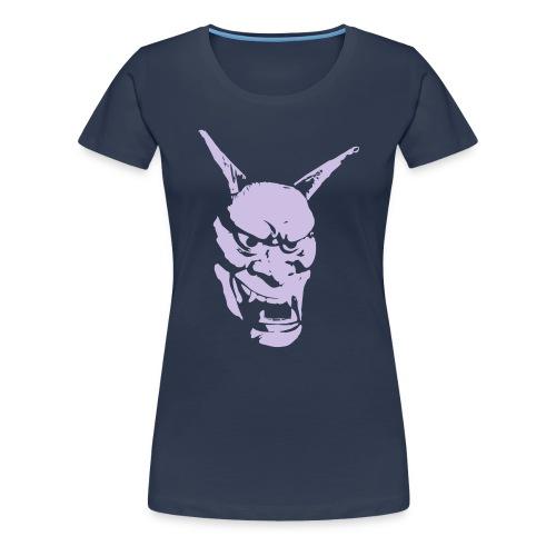 Hannya - Frauen Premium T-Shirt
